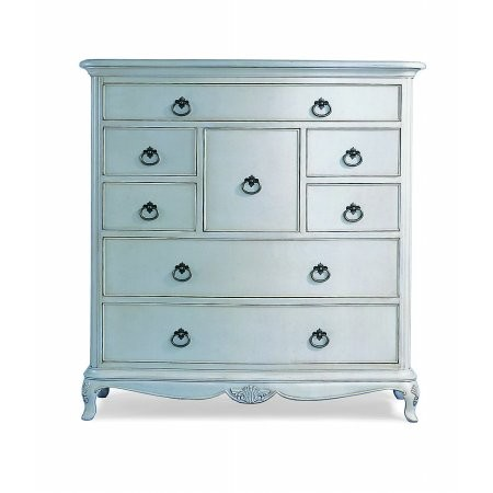 Willis And Gambier - Ivory 8 Drawer Chest