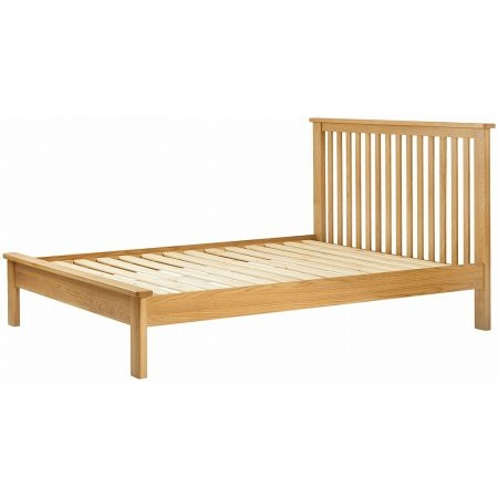Classic Furniture - Portland 5Ft King Bedstead Oak