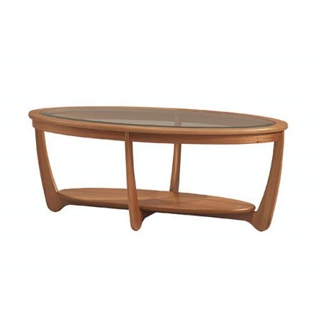 Nathan - Shades Glas Top Coffee Table