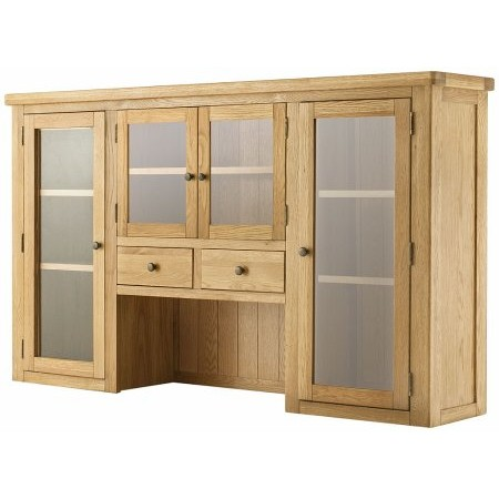 Classic Furniture - Portland Grand 4 Door Dresser Top Oak