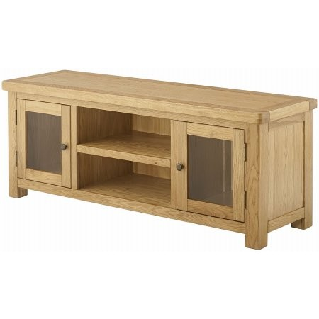 Classic Furniture - Portland Grand Lowline TV Unit Oak