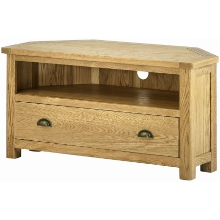 Classic Furniture - Portland Corner TV Cabinet Oak