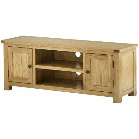Classic Furniture - Portland Large TV Cabinet Oak
