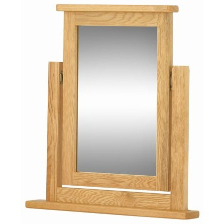 Classic Furniture - Portland Dressing Table Mirror Oak