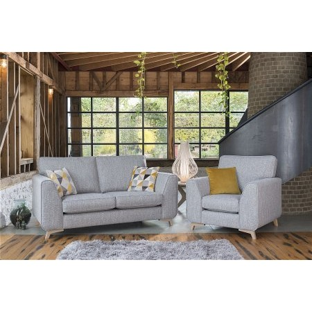 Alstons Upholstery - Stockholm 2 Seater Sofa